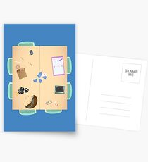 Group Study Room F Postcards