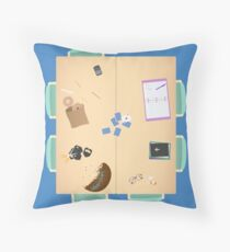 Group Study Room F Throw Pillow