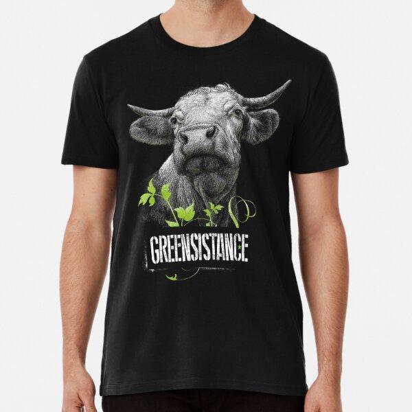 GREENSISTANCE-KUH-FREIHEIT Premium T-Shirt