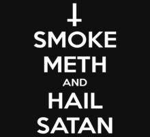 Smoke Meth and Hail Satan | Unisex T-Shirt