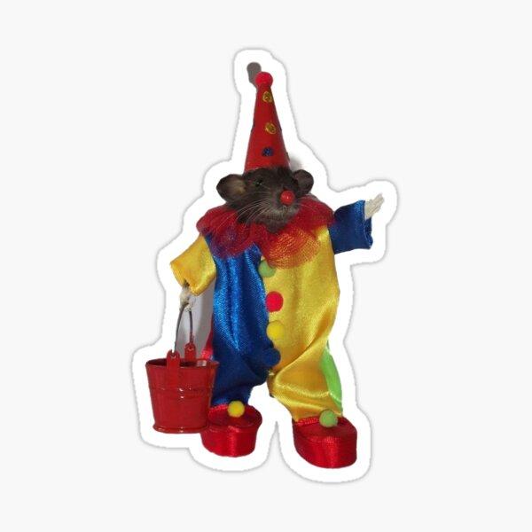 clown rat Sticker