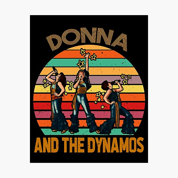 Donna and the dynamos, Mamma Mia Music, Dynamos Perform Musical Photographic Print