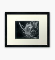 ©NLE Blue Shake Monochrome Framed Print