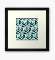 Poe-ka Dots Framed Print