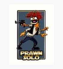 Prawn Solo Art Print