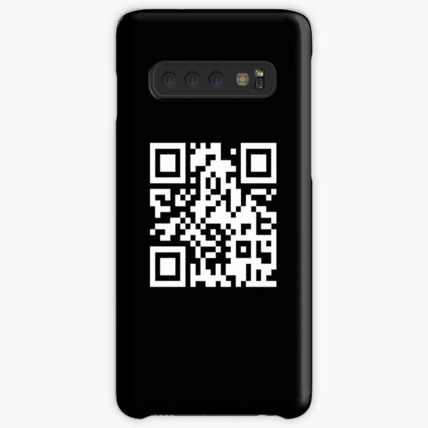 Rick Roll - Never Gonna Give You Up QR Samsung Galaxy Snap Case
