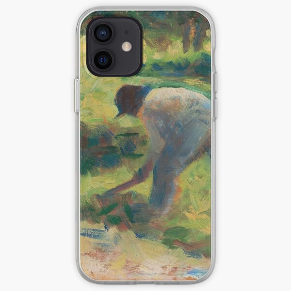 Peasant with a Hoe iPhone Soft Case