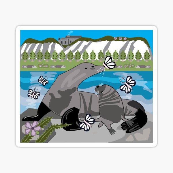Seals By the Sea Sticker