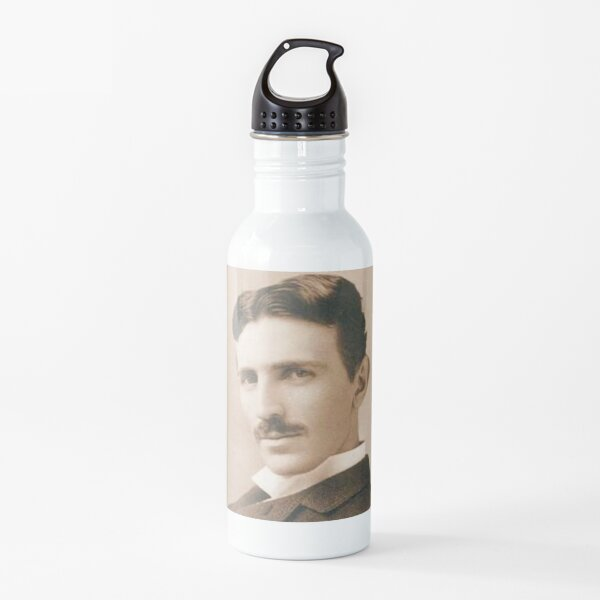 nikola tesla Water Bottle