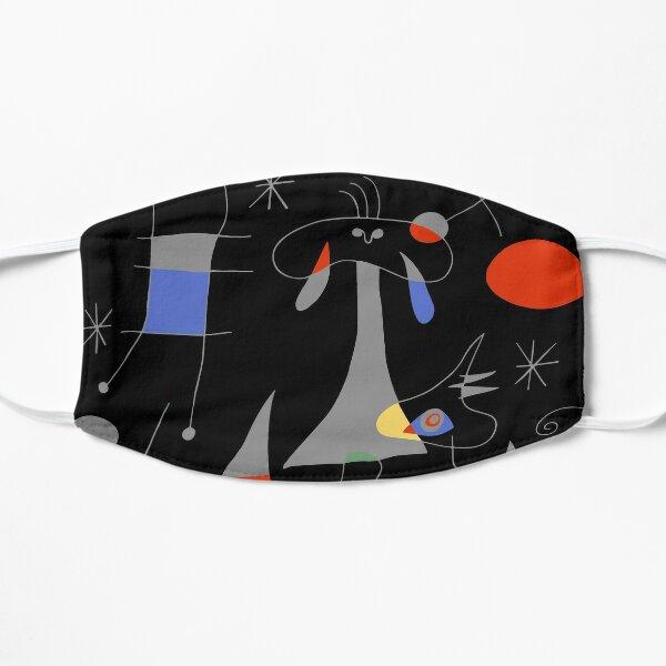 Joan Miro The Sun (El Sol) 1949 Painting Artwork For Prints Posters Tshirts Bags Women Men Kids Flat Mask