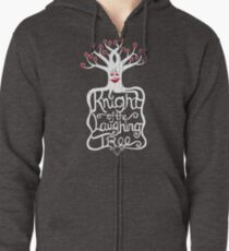 Knight of the Laughing Tree Zipped Hoodie