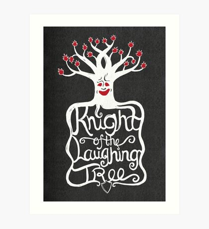 Knight of the Laughing Tree Art Print