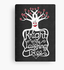 Knight of the Laughing Tree Canvas Print