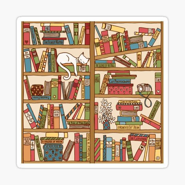 Bookshelf No.1 Sticker