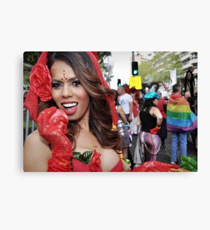 Sydney Gay and Lesbian Mardi Gras 2013 Canvas Print