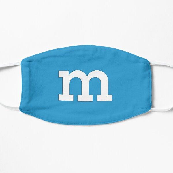 m&m Blue Flat Mask