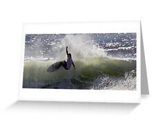 on the coast  Greeting Card