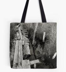 old mooring Tote Bag