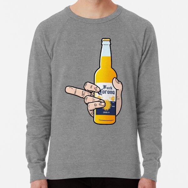 Middle Finger to the Virus Lightweight Sweatshirt