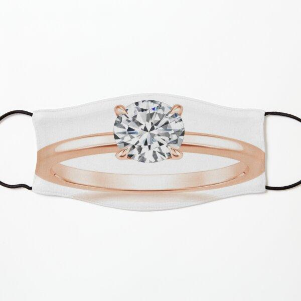 #Engagement #ring #yellow #gold diamond Kids Mask