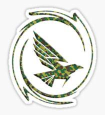 Eagle in Tribal Sticker