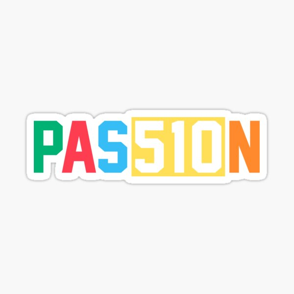 Pas510n: Passion 510 (Oakland Roots) Sticker