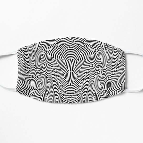 Psychedelic Hypnotic Visual Illusion Mask