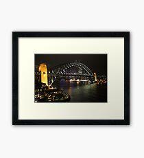 Sydney Harbour Bridge Framed Print