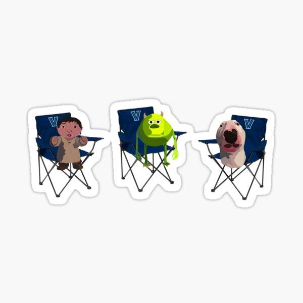 Nova tragbaren Stuhl Trio Sticker