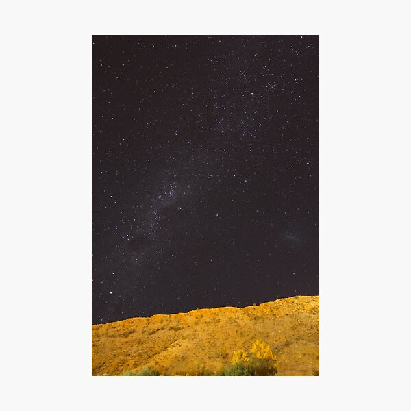 Milky Way over the Red Centre Photographic Print