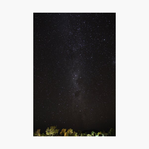 Milky Way over the Red Centre II Photographic Print