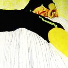 Fara in black and yellow by donna malone