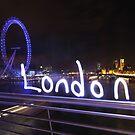 Lightpaint London by myebra