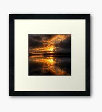 Smoulder - Narrabeen Lakes Sydney Australia  - The HDR Experience Framed Print