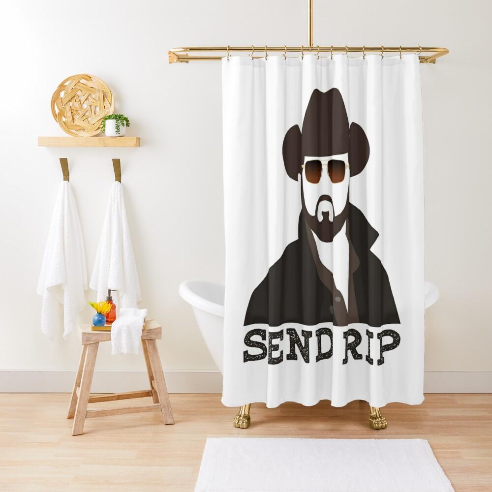 Send Rip 2 Shower Curtain