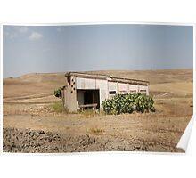 Derelict Agricultural Building Poster