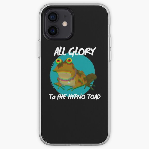 Toute la gloire à l'hypno crapaud! (Version 2) Coque souple iPhone