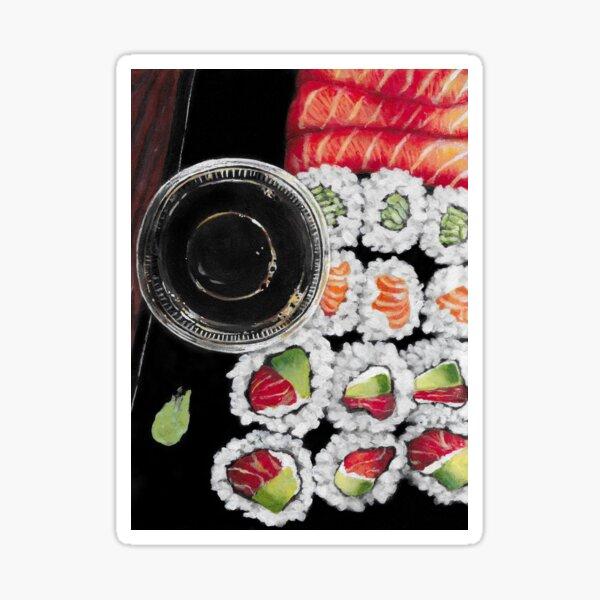 Sushi Time Sticker