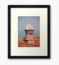 Chimney in Piran Framed Print