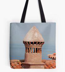 Chimney in Piran Tote Bag