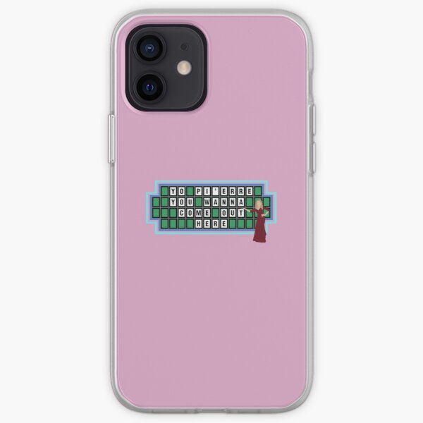 Pierre Bourne - Yo Pierre You Wanna Come Out Here iPhone Soft Case