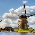 Kinderdijk, Holland by Mick Yates