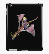 Ezreal riding Shyvana as Eragon with Saphira iPad Case/Skin