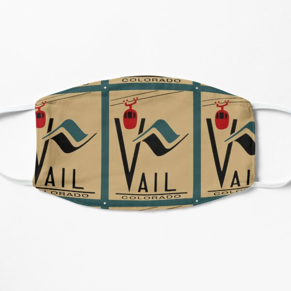 Vail Colorado Vintage Travel Decal Mask