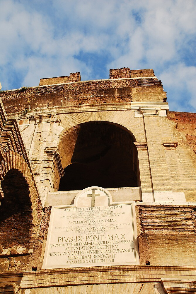 Archway Details at the Colosseum by jojobob