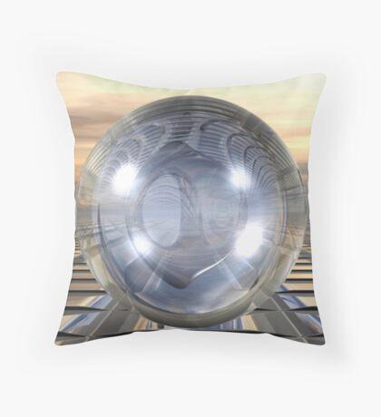 Three Spheres Throw Pillow