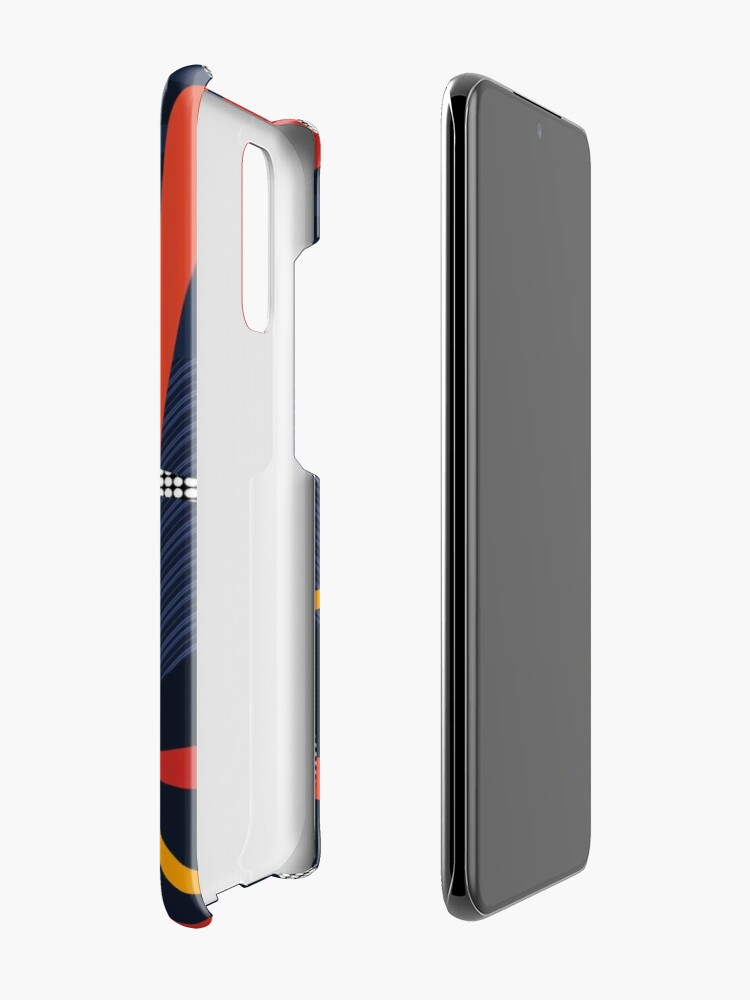 Alternate view of Minimalist Pop-Art Design Case & Skin for Samsung Galaxy