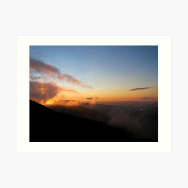 Sunrise on Saddleback Jr. Art Print