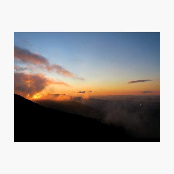 Sunrise on Saddleback Jr. Photographic Print