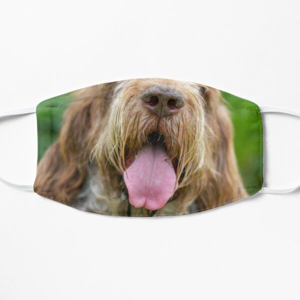 Happy Panting Spinone Mask